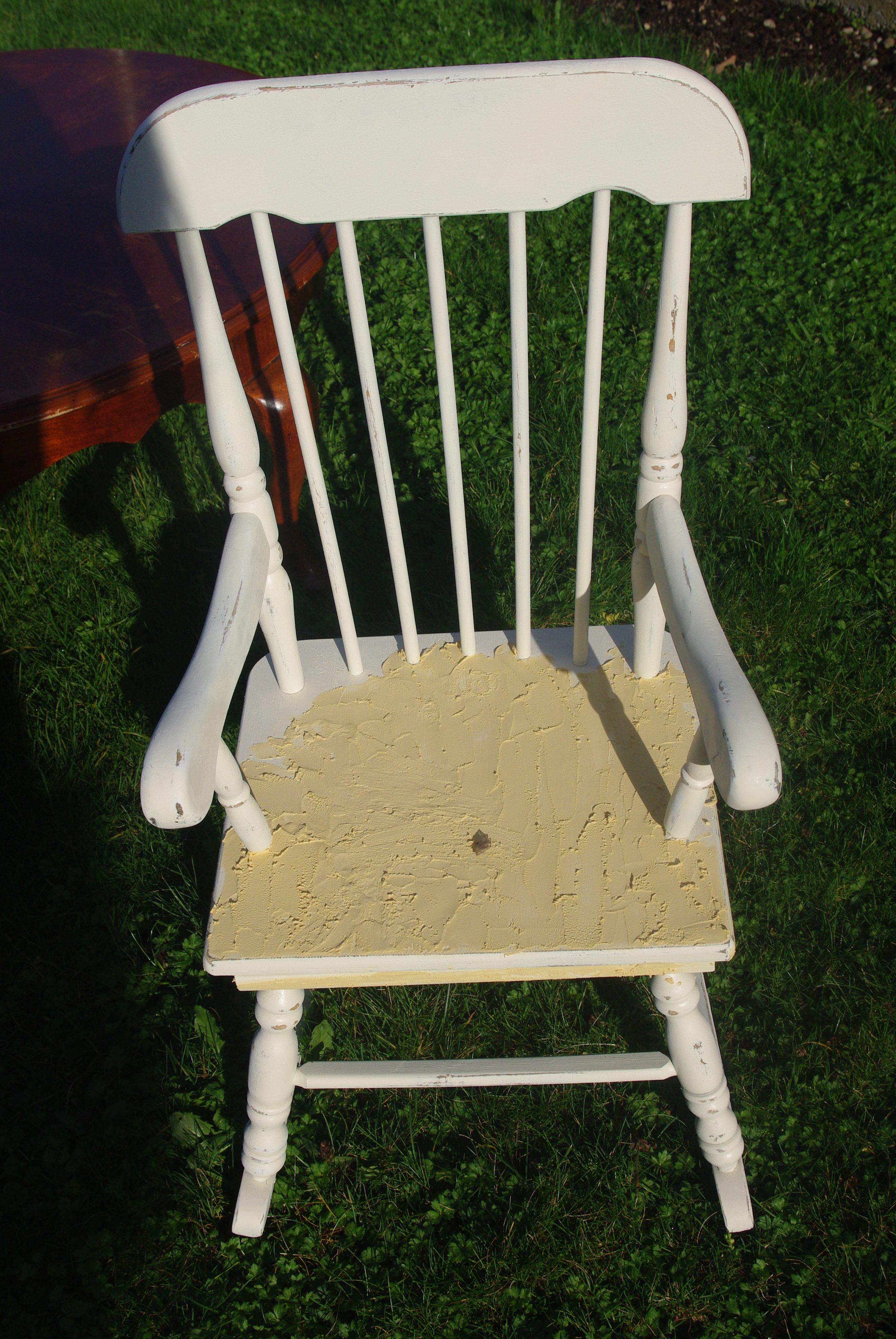 Grain Sack Rocking Chair Uglyducklingtransformations